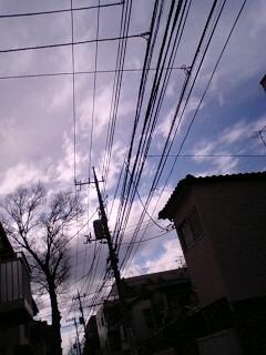 でも反対側は曇っている