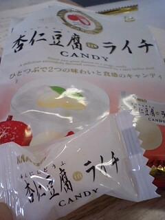 杏仁豆腐 in ライチ