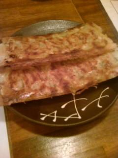 湯葉チーズ餃子